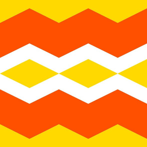 This Is Halloween! ~ Candy Corn Chevron
