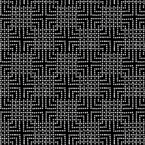 cross check - black and white basic fabric by materialsgirl on Spoonflower - custom fabric