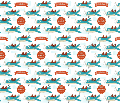 Bearlines, est. 1929 fabric by els_vlieger_illustrations on Spoonflower - custom fabric