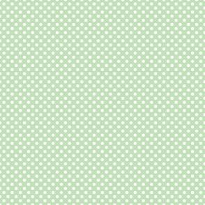 Mint Polka Dot