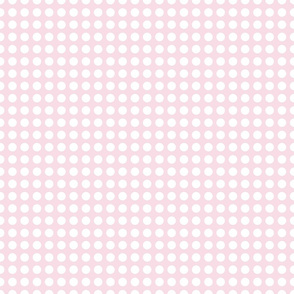 Blush Dots in a Row