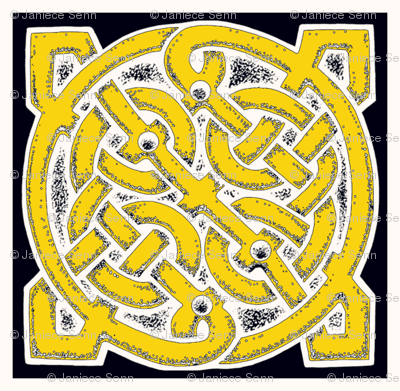 Celtic Knot dinner napkins