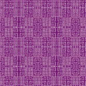 edo bead - purple, white
