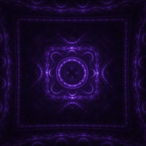 Square Fractal - Purple