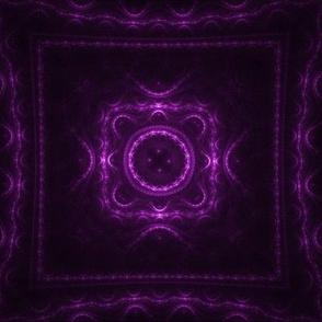 Square Fractal - Magenta