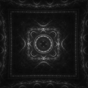 Square Fractal - Gray