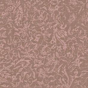 Bird of Paradise - lavender, taupe