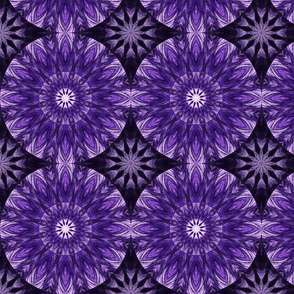 Kaleidoscope 16 - Purple Flowers