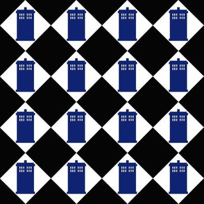 Harlequin Police Box black 1