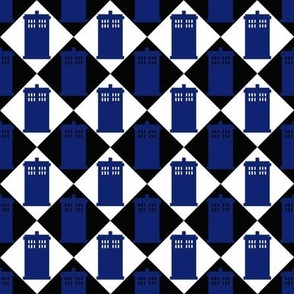 Harlequin Police Box black 2