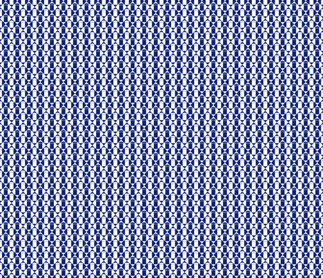 Harlequin Police Box blue and white_s-m fabric by morrigoon on Spoonflower - custom fabric