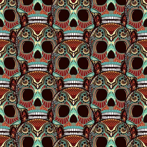 Large Azteca Skulls