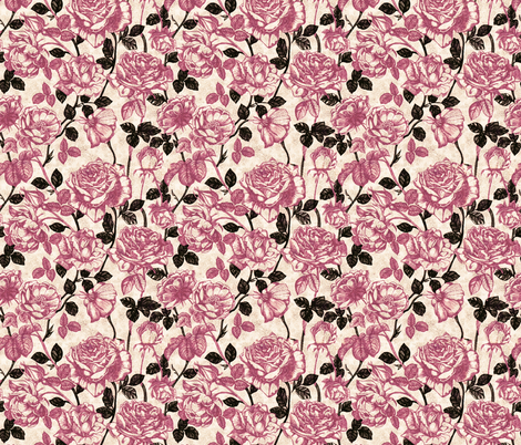 Toile_de_Jouy_calido fabric by kirpa on Spoonflower - custom fabric
