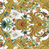 Parrot Damask ~ Rotated