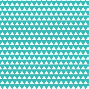 Triangle Bright Turquoise