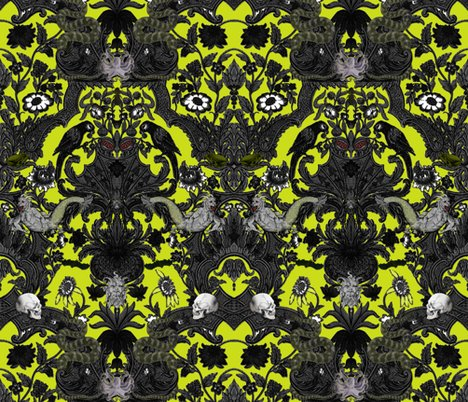 Rthis_is_halloween_haunted_damask_extra_spooky_chartreuse_shop_preview