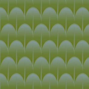 palmate new leaf