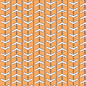 Clotheshanger Chevron Tangerine