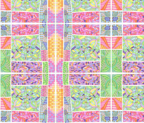 Lovely Colors fabric by lita_blanc on Spoonflower - custom fabric