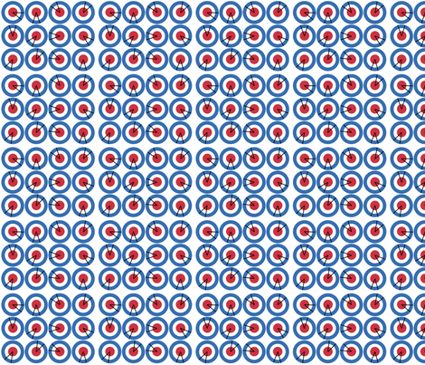 Mod Radar fabric by feamainnín on Spoonflower - custom fabric