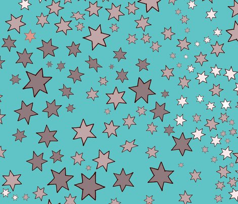 Mucha_s_stars_scattered_turquoise_shop_preview
