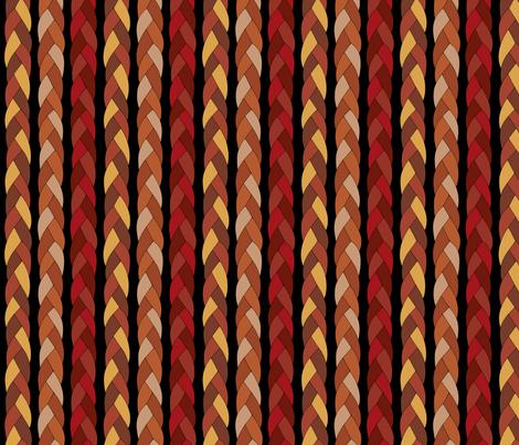 Leather braid fabric by loopy_canadian on Spoonflower - custom fabric