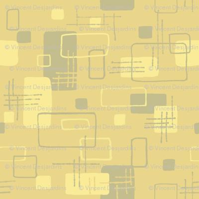 Modern Blocks Mustard