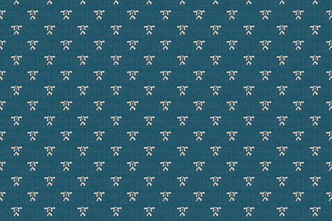 kiri coordinate - teal & white coordinate fabric by materialsgirl on Spoonflower - custom fabric
