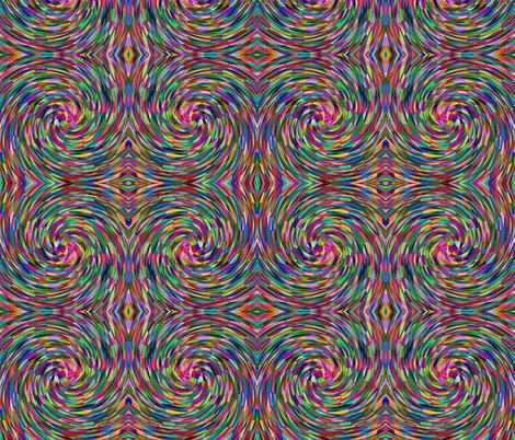 Dizzy Multi fabric by glanoramay on Spoonflower - custom fabric