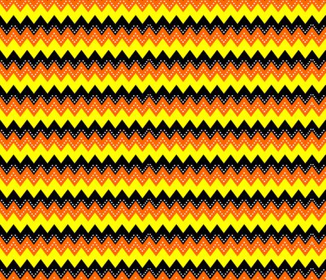 Pumpkin Chevron fabric by implexity on Spoonflower - custom fabric