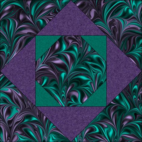 Quilt Block 1-1 fabric by modernmarblingdesign on Spoonflower - custom fabric