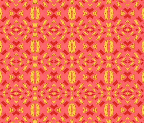 redyellowpink013 fabric by bigdaddy1960 on Spoonflower - custom fabric
