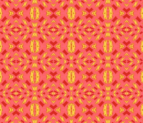 redyellowpink013 fabric by bigdaddy1960 on Spoonflower - custom fabric