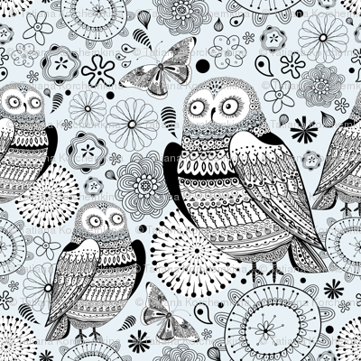 graphic owl