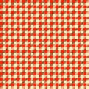 Apple-Red_and_Cream_Quarter-inch Checks