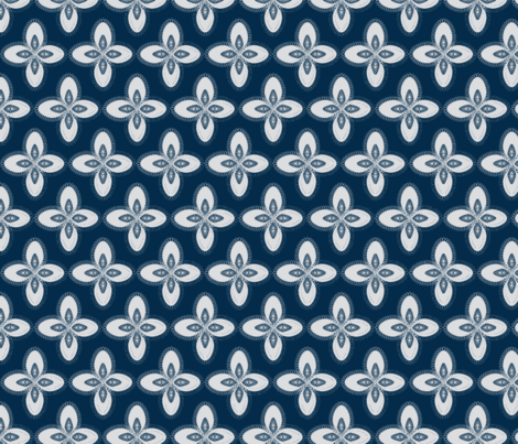 Ambiance blue fabric by mayacoa on Spoonflower - custom fabric
