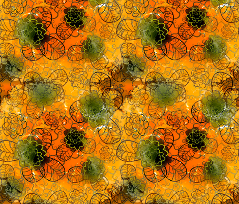 orange 1 fabric by kociara on Spoonflower - custom fabric