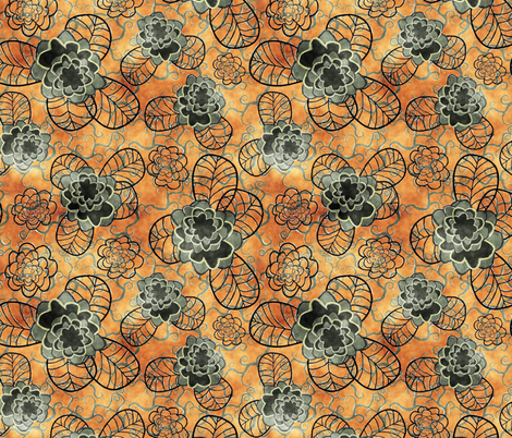 orange2 fabric by kociara on Spoonflower - custom fabric