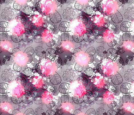 pink 2 fabric by kociara on Spoonflower - custom fabric