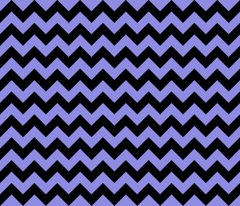 Chevron Purple Black fabric by egprestonhouse on Spoonflower - custom fabric