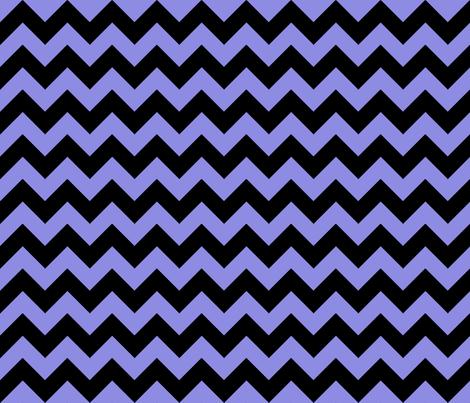 Chevron Purple Black fabric by egprestonhouse on Spoonflower - custom fabric