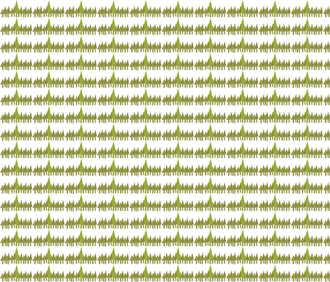 Trees fabric by terriaw on Spoonflower - custom fabric