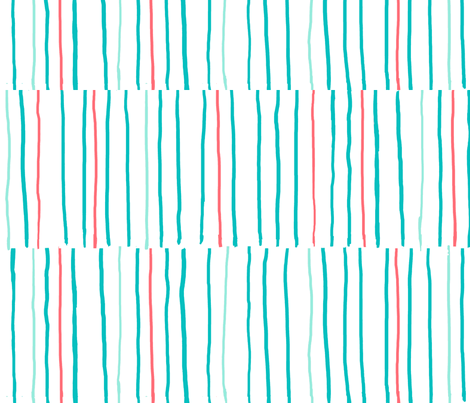 Stripes - Large fabric by jennjersnap on Spoonflower - custom fabric