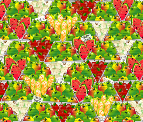 Fresh Picked fabric by glimmericks on Spoonflower - custom fabric