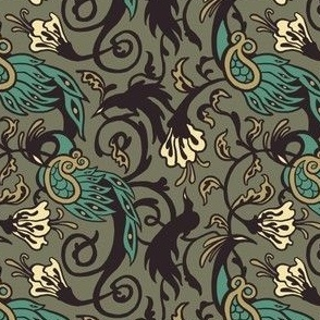 Bird Nouveau I