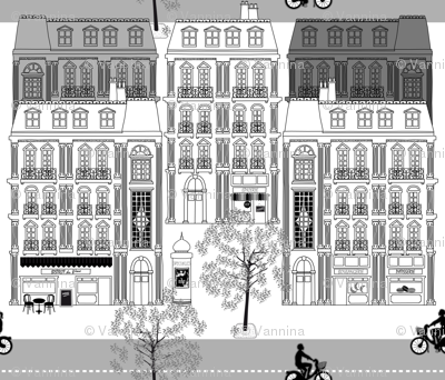 Boulevard Haussmann Grey