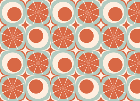 Circles and Bursts fabric by bobbifox on Spoonflower - custom fabric