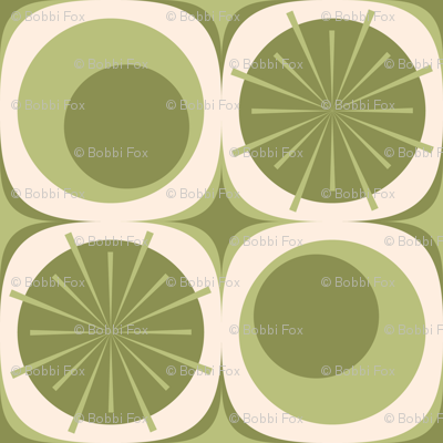Circles and Bursts: Olivetree