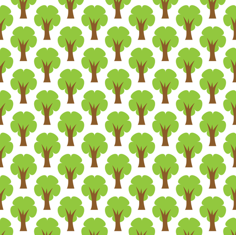 Emerald Forest fabric by pixeldust on Spoonflower - custom fabric