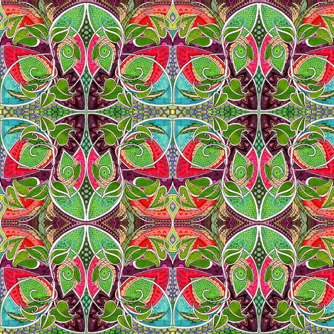 Ever Get the Feeling You Were Being Watched? fabric by edsel2084 on Spoonflower - custom fabric